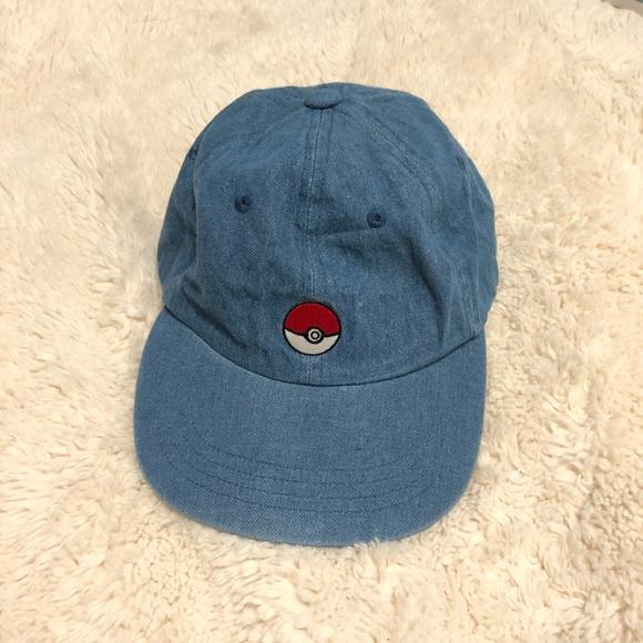 240b0b1830a Buy2Get1Free Denim Pokeball Dad Hat From Japan. M 5b20c00ebb761572912e1baa